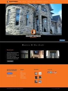 New website - Mastered Masonry