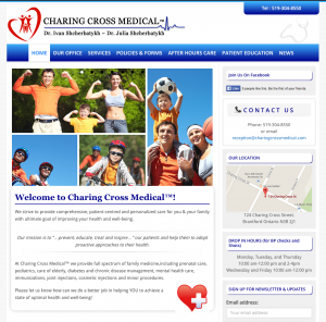 Charing Cross Medical website