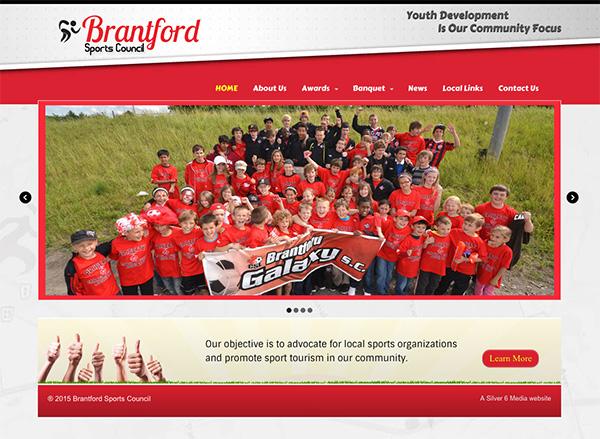 Brantford Sports Website