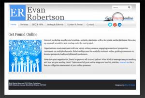 Evan Robertson Website