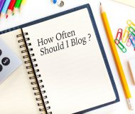 How Often Should I Blog ?