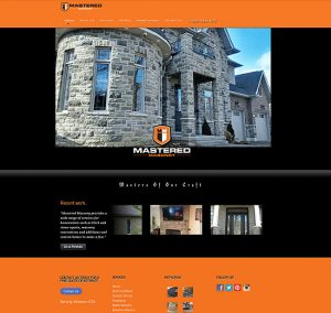 Web Design Mastered Masonry Website