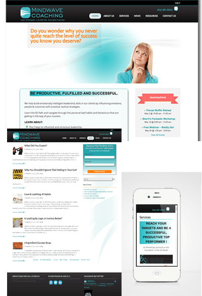 Mindwave website case study