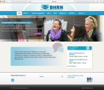 Redesigned website BHRN