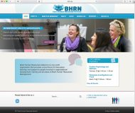 Redesigned Website and New Logo for BHRN