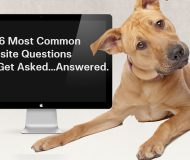 The 6 Most Common Website Questions We Get Asked…And Answered.