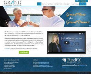Brantford Web Design Grand Financial
