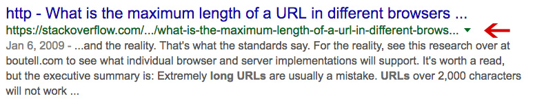 Long Url example