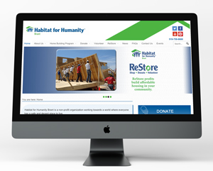 Habitat website redesign